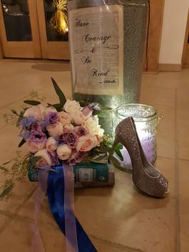 Cinderella theme bouquet