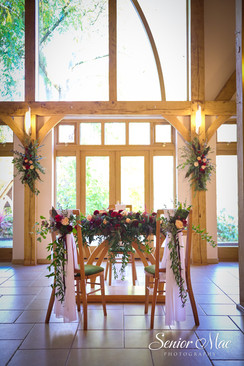 Bright Autum Ceremony flowers by Rhoda Louisa Floral Events