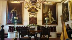 Windsor Guild Hall Ceremony Flowers