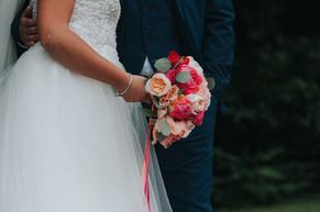Designer vibrant bridal bouquet