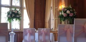 Elegant Wedding pedestals