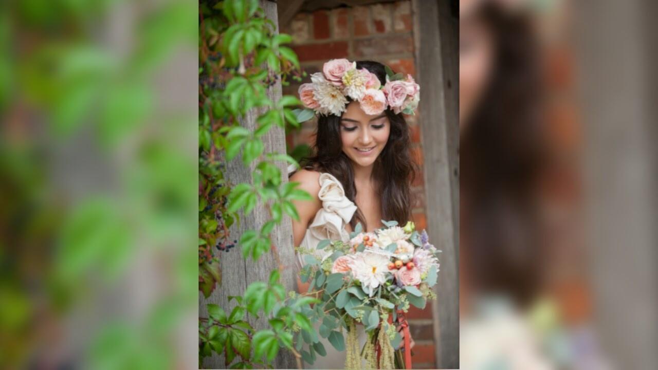 secret garden bridal bouquet