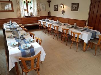 Kommunion id der Gaststube im Gasthaus Wachter bei Bischberg