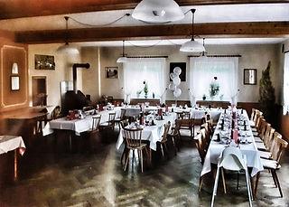 Geburtstagsfeier im Saal des Gasthaus Wachter in Trosdorf bei Bischberg
