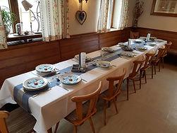Feier in der Gaststube im Gasthaus Wachter in Trosdorf