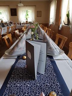 Veranstaltung im Sall des Gasthaus Wachter Trosdorf bei Bischberg