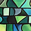 Thumbnail: Abstract Green Ombre Shapes