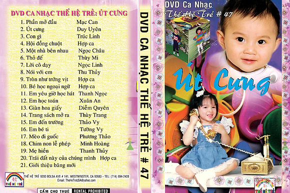 DVD Ca Nhac The He Tre # 47