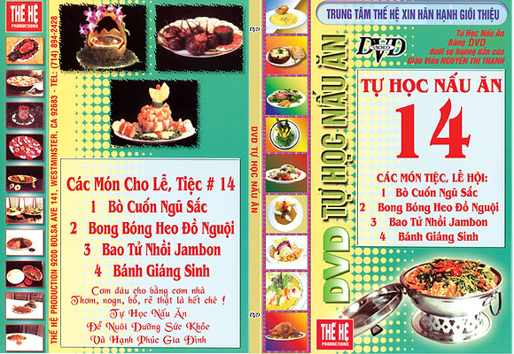 DVD Tu Hoc Nau An #14