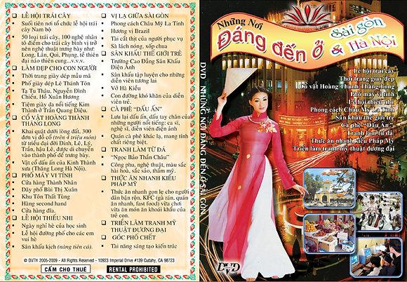 DVD Nhung noi dang den o Saigon & Hanoi