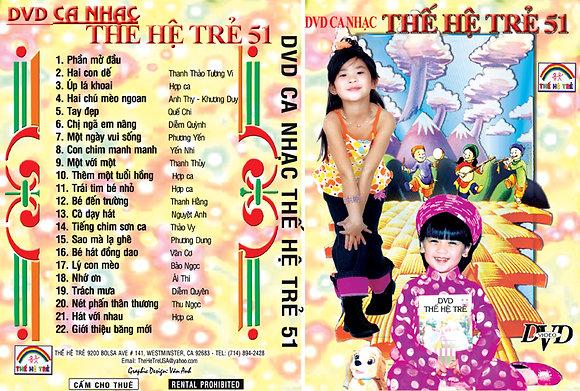 DVD Ca Nhac The He Tre # 51