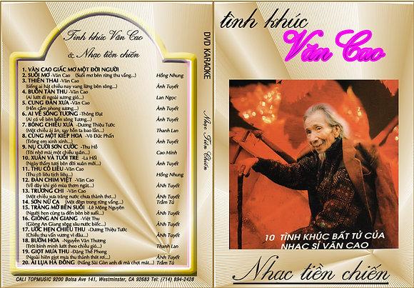 DVD Tinh khuc Van Cao & Nhac tien chien