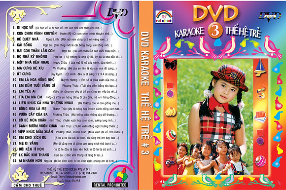 DVD THE HE TRE # 03 Karaoke