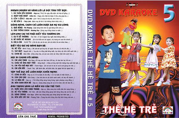DVD THE HE TRE # 05 Karaoke