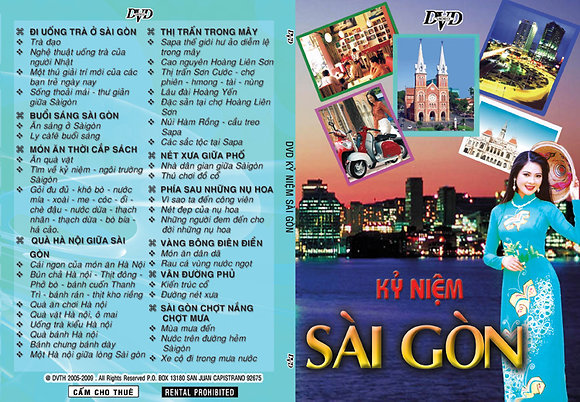DVD Ky niem Saigon