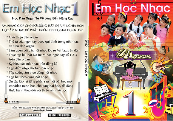 DVD Em Hoc Nhac # 1