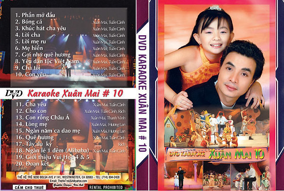 DVD THE HE TRE # 10 Karaoke