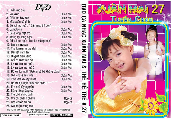 DVD Xuan Mai # 27