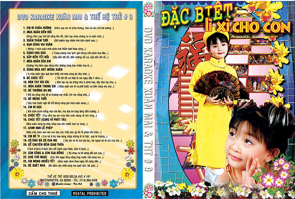 DVD THE HE TRE # 09 Karaoke TET