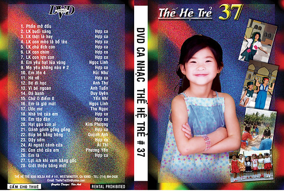 DVD Ca Nhac The He Tre # 37