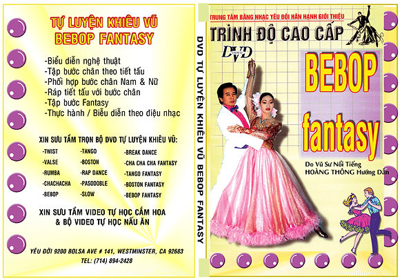 DVD Tu Luyen Khieu Vu Bebop - Fantasy