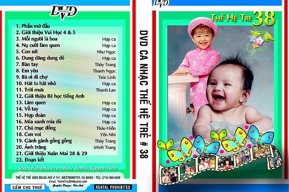 DVD Ca Nhac The He Tre # 38