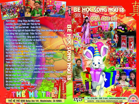 DVD Be Hoc Song Ngu # 18
