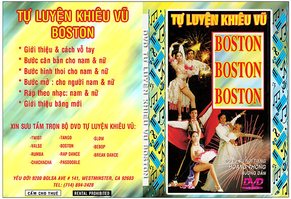 DVD Tu Luyen Khieu Vu Boston