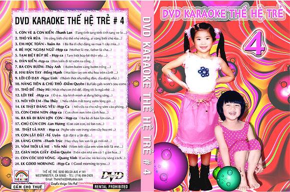 DVD THE HE TRE # 04 Karaoke