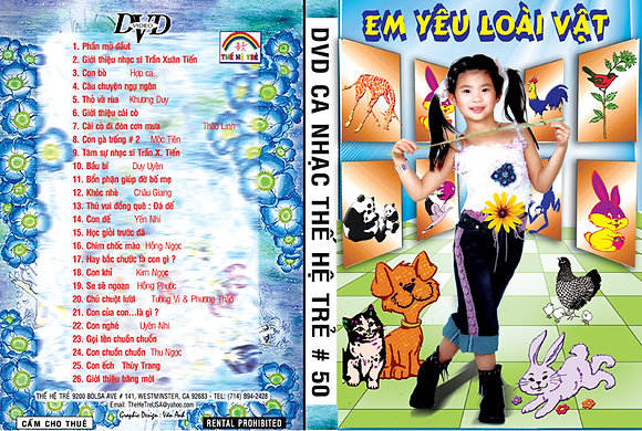 DVD Ca Nhac The He Tre # 50