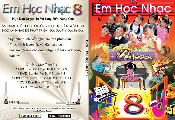 DVD Em Hoc Nhac # 8