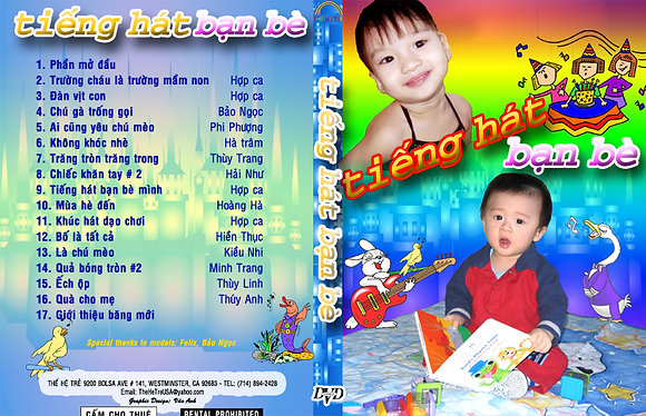 DVD Ca Nhac The He Tre # 10 Tieng Hat Ban Be