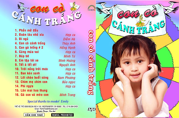 DVD Ca Nhac The He Tre # 03 Con Co Canh Trang