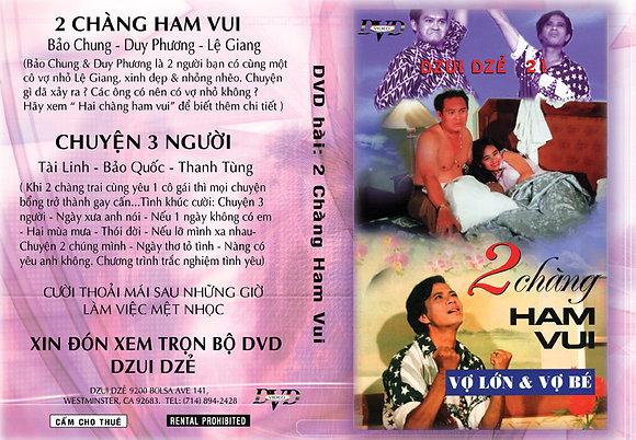 DVD Hai Chang Ham Vui