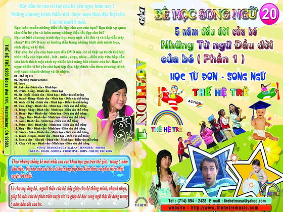 DVD Be Hoc Song Ngu # 20