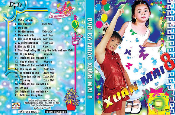 DVD Xuan Mai # 08