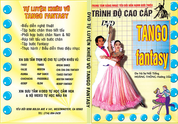 DVD Tu Luyen Khieu Vu Tango-Fantasy