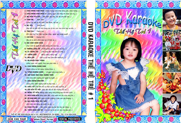 DVD THE HE TRE # 01 Karaoke