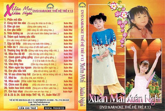 DVD THE HE TRE # 13 Karaoke