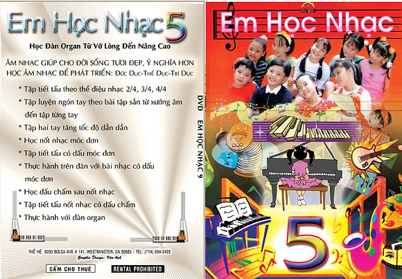 DVD Em Hoc Nhac # 5