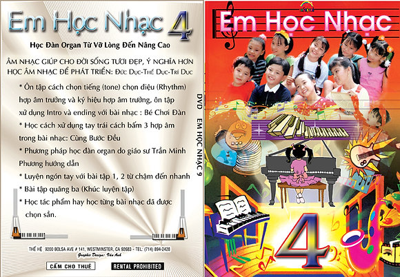 DVD Em Hoc Nhac # 4