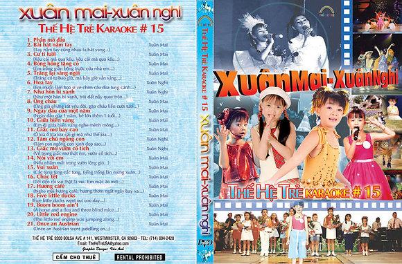 DVD THE HE TRE # 15 Karaoke