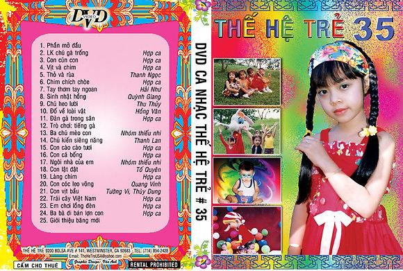 DVD Ca Nhac The He Tre # 35