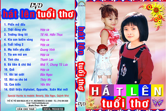 DVD Ca Nhac The He Tre # 08 Hat Len Tuoi Tho