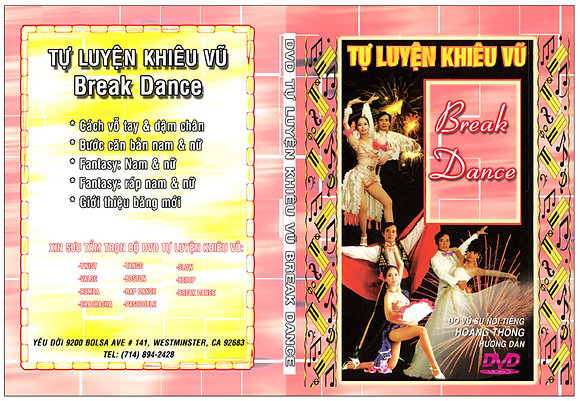 DVD Tu Luyen Khieu Vu Break Dance
