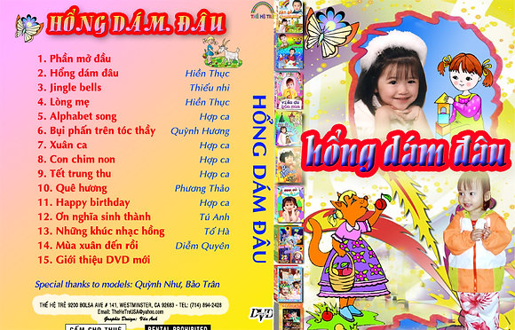 DVD Ca Nhac The He Tre # 09 Hong Dam Dau