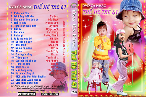 DVD Ca Nhac The He Tre # 41