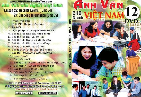 DVD Tu Hoc Anh Van 12