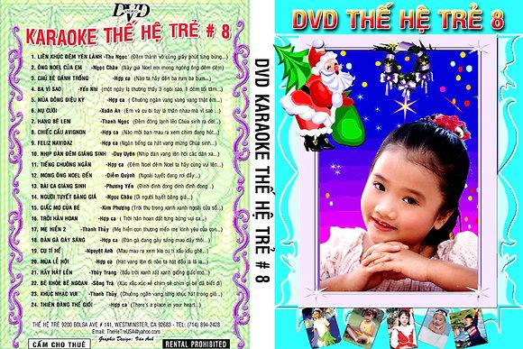 DVD THE HE TRE # 08 Karaoke