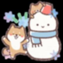 雪だるまと犬猫2.png